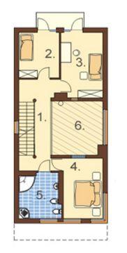 Planos De Casas Angostas Y Alargadas Casas Estrechad Pinterest