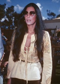 Cher in the 70s could pull that outfit out of her closet tomorrow and wear it without any comment. In fact, I would wear it! Fashion icon? I think so.