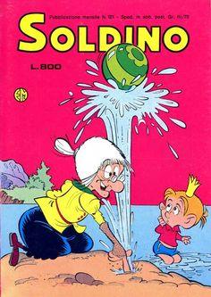 Il fumetto di Soldino. Quanti ne ho letti in estate al mare. Eroina perpetua, la super nonna Abelarda!!!