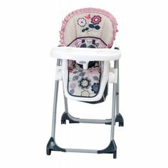 Baby Trend Accent Lite High Chair, Chloe - http://activelivingessentials.com/baby-essentials/baby-trend-accent-lite-high-chair-chloe/