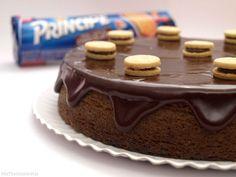Bizcocho de galletas príncipe  (Microondas)