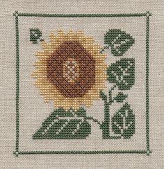 Garden Grumbles and Cross Stitch Fumbles: Sunflower Sunday Serendipity