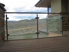 Glass/Aluminium/Decked Balcony
