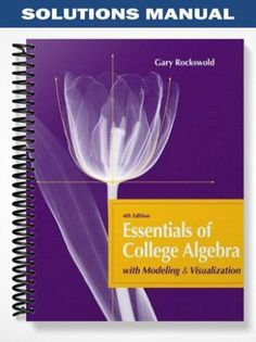 Test bank abnormal psychology an integrative approach 6th edition solutions manual essentials of college algebra with modeling visualization 4th edition rockswold at https fandeluxe Choice Image