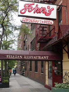 John's of 12th Street Restaurant, veal meatballs and homemade pasta, NYC
