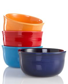 For colour I went with a variety of Fiesta Gusto Bowls. Perfect for a really big bowl of soup!