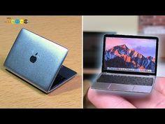 DIY Macbook Style Miniature Laptop マックブック風ミニチュアノート型パソコン作り - YouTube