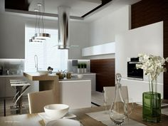 INTERIOR DESIGN CONCEPT: Unexpected Twists for Modern Kitchens: Interior Design Ideas