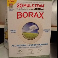 I have found the most amazing stain remover for my clothes!  I make a paste with the Borax and my laundry detergent and use a toothbrush to scrub it on the spots..even if it is a day or two old...yes, even greasy food stains.  You can also add half a cup to any load and it brightens your clothes...good-bye expensive Clorox 2.