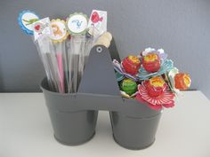 stampin up candy goodie lolly Pop zoo Babys  Lollys