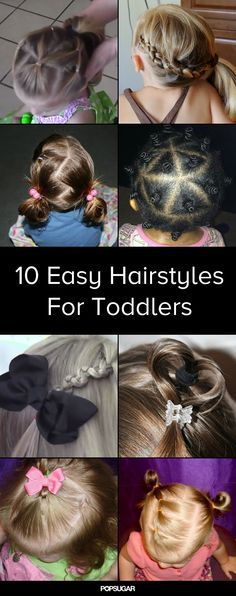 10 Easy-to-Master Hairdos For Your Impatient Toddler ... so cute!  #naturalskincare #healthyskin #skincareproducts #Australianskincare #AqiskinCare