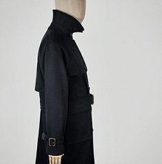 Full of length, double of breast, and altogether grand of stature — it is the trench coat, made in the British Isles, from British cloth. Work Jackets, Trench, Navy Blue, Mens Fashion, Blazer, Coat, Clothes, Moda Masculina, Outfits
