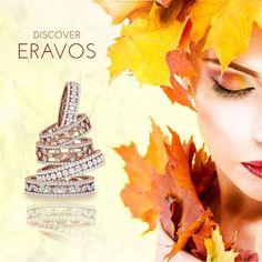 Fall in love💞 with new beautiful and sparkle rings collection. 🍁🍂 Enamórate 💞 de nuestra nueva colección de anillos, hermosa y brillante.🍂🍁