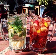mint+lemon ~ lemon + strawberry