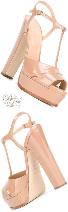 Brilliant Luxury by Emmy DE ♦ Sergio Rossi Platform Sandals