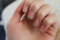 Got my nails done in bling! :D