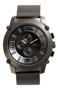 Titanium big number watch – watmannenechtwillen
