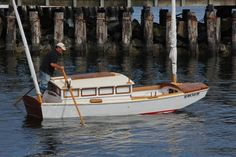 Where is info on the Garvey Houseboat? Wooden Boat Building, Boat Building Plans, Boat Plans, Landscaping Around House, Luxury Landscaping, Float Life, Shanty Boat, Honfleur, Best Boats