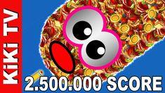 WORMSZONE.IO TOP 01 PRO GIANT SLITHER SNAKE - Epic Worms Zone Best Gamep... Slitherio Game, Worms, Best Games, Snake, Make It Yourself, Tv, Youtube, Tattoo Female, Pintura