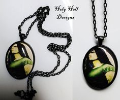 Type O Negative Peter Steele Necklace van HolyHellDesigns op Etsy