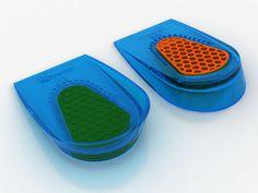 SPENCO® GEL HEEL CUPS feature a slip-resistant design, deep heel cupping and honeycomb impact protection for ultimate heel comfort.