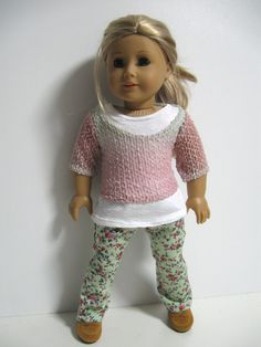 American Girl Doll Clothes Ombre by 123MULBERRYSTREET on Etsy, $29.00