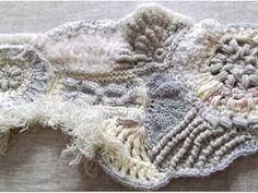 écharpe white winter : le montage