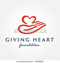 Stock vector of Heart In Hand Symbol Sign Icon Logo Template. Heart Vector, Charity Branding, Hand Symbols, Branding Design, Logo Design, Hand Images, Medical Logo, Hand Logo, Heart Sign