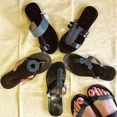 6dbefff247ba Seeded Sandals are artisan beaded leather sandals