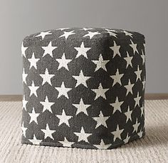Rh Floor Pillows : Poufs & Floor Pillows RH Baby & Child poufs bean bag chairs play mats Pinterest Rh ...