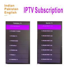 Žhavý prodej LIVE IPTV VOD Zee TV Indický IPTV Nejlepší TV IPTV