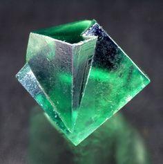 Fluorite - Rogerley Mine, Rogerley Quarry, Frosterley, Weardale, North Pennines, Co. Durham, England, UK