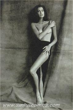 Yasme Enghauri Beach Nude