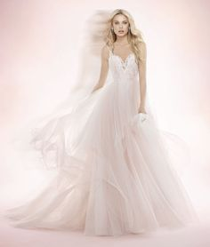 Blush by Hayley Paige- Style 1708 Lilou- Find gown @ De Ma Fille Bridal in Ft. Worth, TX. 817.921.2964, www.demafille.com