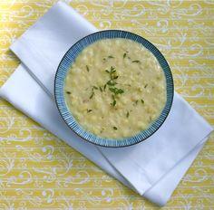 slow cooker corn chowder.