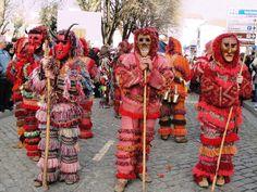 Winter solstice festivities of northeaster Portugal: Caretos de Podence