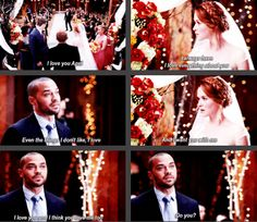 april and jackson - April Kepner's wedding
