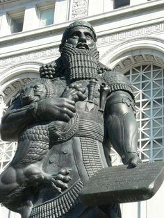Ashurbanipal was the last, strong king of the Neo- Assyrian Empire (from his reign in 934 to its fall between 605 and 612BC.) Ashurbanipal's father was the youngest son of Sennacherib but one of six siblings: 5 brothers and one sister. Manypaintings of Ashurbanipal depict him as being a very brutal king.