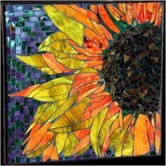 sunflowers mosaic