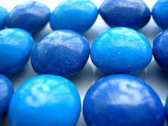 "Blue Skittles  ""A blue food"" Hey, you gotta love blue candy."
