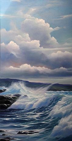 Trysting - Original Oil Painting by Jonn Einerssen