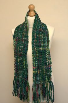 Handwoven scarf by TheQuiltedWeaver on Etsy SOLD OUT