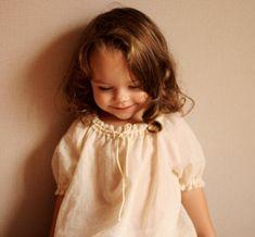 Girl's summer blouse