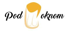 "logo for beer pub ""Pod oknom"""