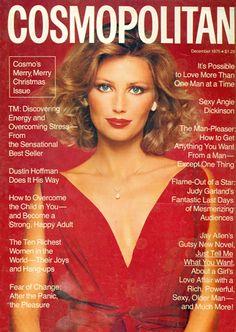 EVELYN KUHN  Cosmopolitan Cover  December 1975  Photo: Scavullo