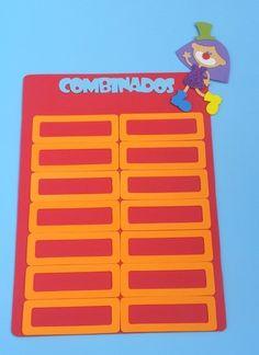 painel de combinados para sala de aula www.petilola.com.br