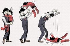 HAHA! Poor Tenma!! Poor Astro!!!  Tumblr is confusing but I love the HTTYD Books : Photo