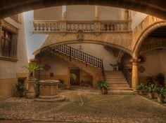 Palma Mallorca Spain Old Town