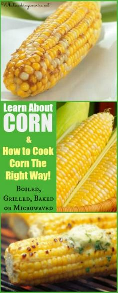 Learn How to Cook Corn