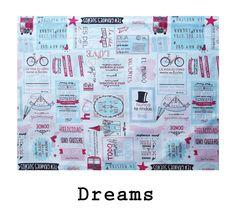 tela algodón Dreams